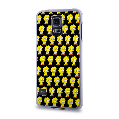 Чехол для Samsung Galaxy S5 силиконовый  Фото 03, Лиза Симпсон
