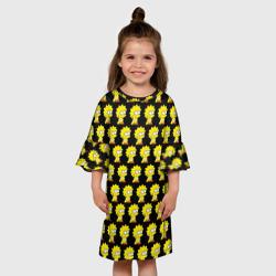 Детское платье 3DЛиза Симпсон