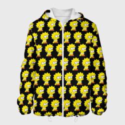 Мужская куртка 3DЛиза Симпсон