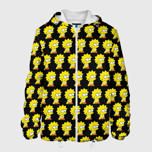 Мужская куртка 3D Лиза Симпсон