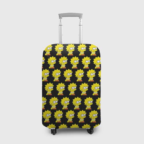 Чехол для чемодана 3D Лиза Симпсон