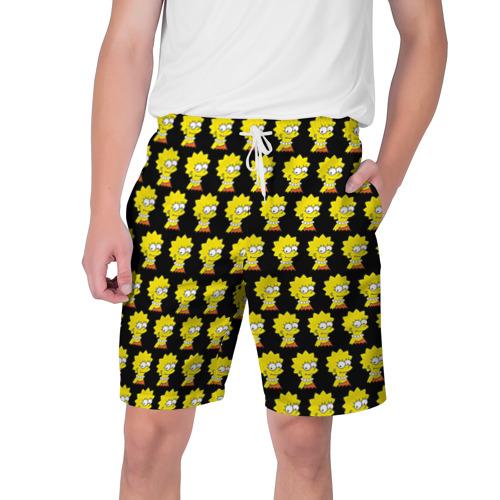 Мужские шорты 3D Лиза Симпсон