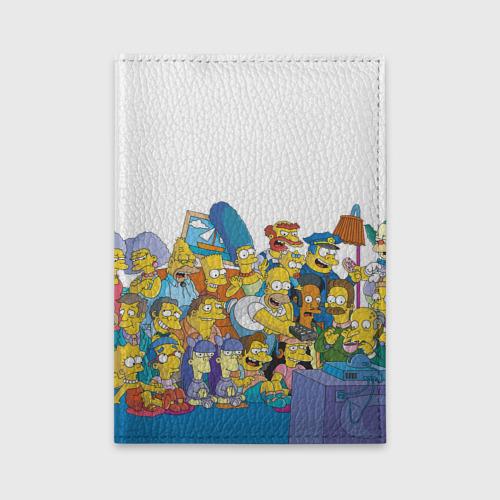 Обложка для автодокументов Симпсоны