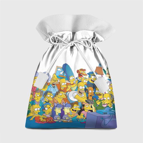 Подарочный 3D мешок Симпсоны