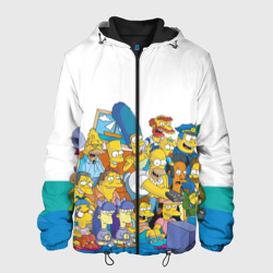 Мужская куртка 3DСимпсоны