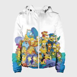 Женская куртка 3DСимпсоны