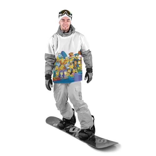Накидка на куртку 3D  Фото 03, Симпсоны