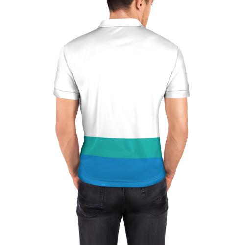 Мужская рубашка поло 3D  Фото 04, Симпсоны