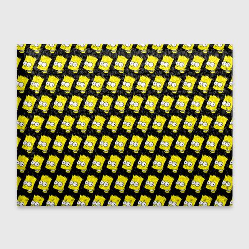 Обложка для студенческого билета Барт Симпсон
