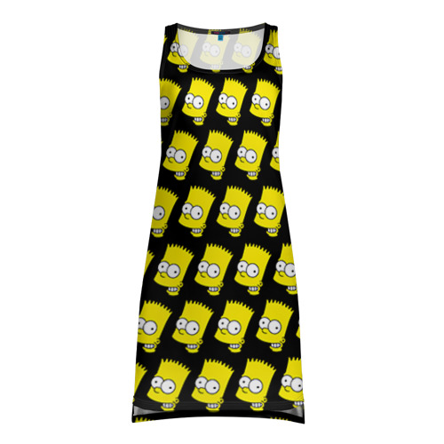 Платье-майка 3D Барт Симпсон