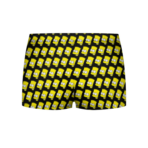 Мужские трусы 3D Барт Симпсон Фото 01