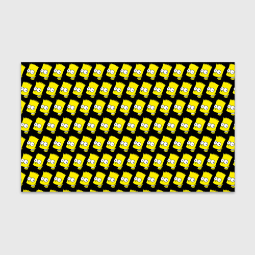 Бумага для упаковки 3D Барт Симпсон