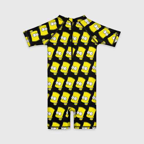 Детский купальный костюм 3D Барт Симпсон Фото 01