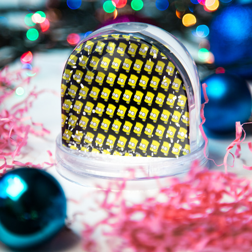 Водяной шар со снегом  Фото 03, Барт Симпсон