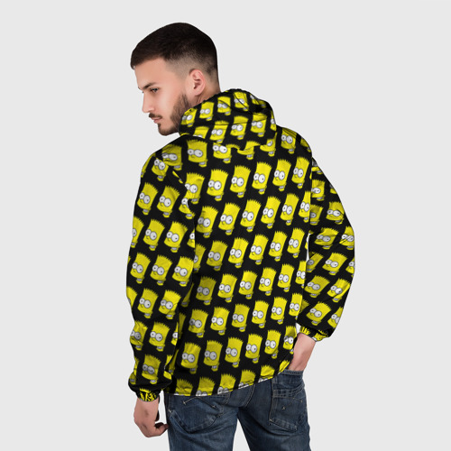 Мужская ветровка 3D Барт Симпсон Фото 01