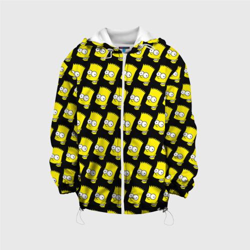 Детская куртка 3D Барт Симпсон