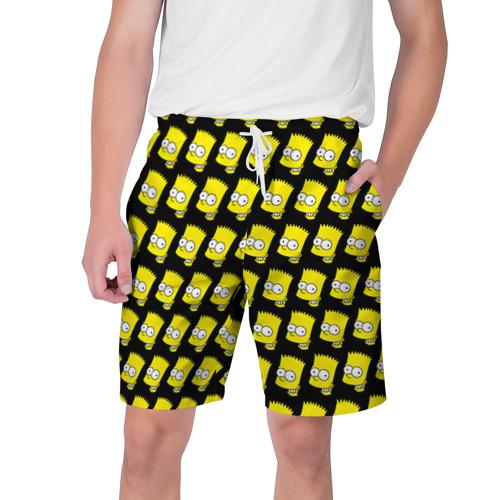 Мужские шорты 3D Барт Симпсон
