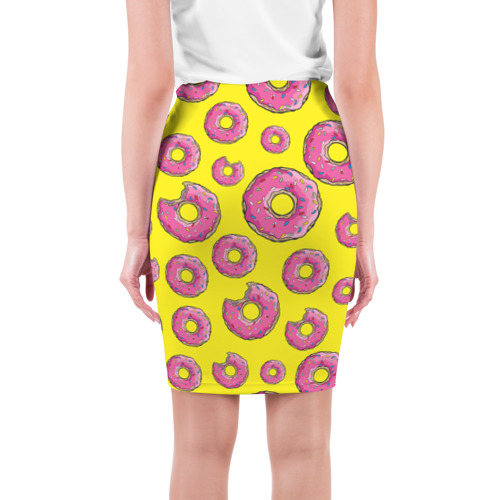 Юбка 3D  Фото 02, Пончики