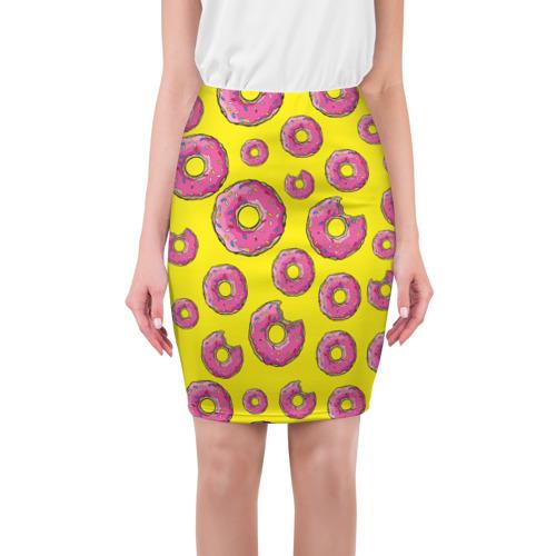 Юбка 3D Пончики