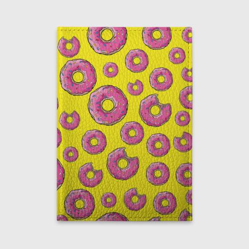 Обложка для автодокументов Пончики