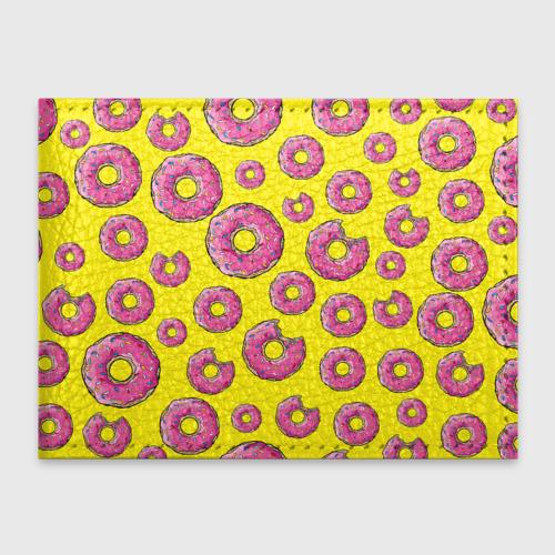 Обложка для студенческого билета Пончики
