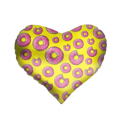 Подушка 3D сердце Пончики