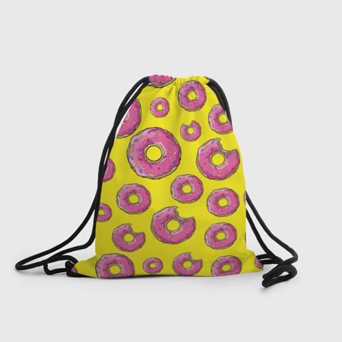 Рюкзак-мешок 3D Пончики