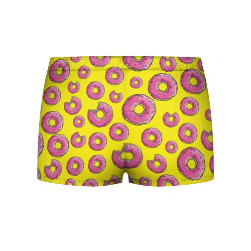 Мужские трусы 3D Пончики Фото 01