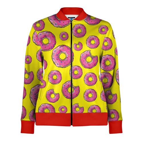 Женская олимпийка 3D Пончики