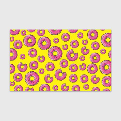 Бумага для упаковки 3D Пончики