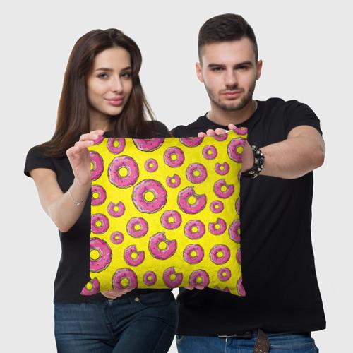 Подушка 3D  Фото 05, Пончики