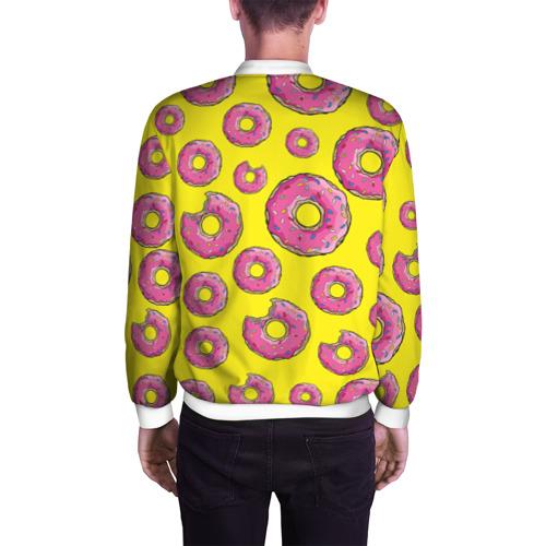 Мужской бомбер 3D  Фото 04, Пончики