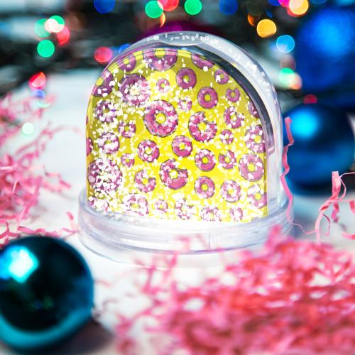 Водяной шар со снегом  Фото 04, Пончики