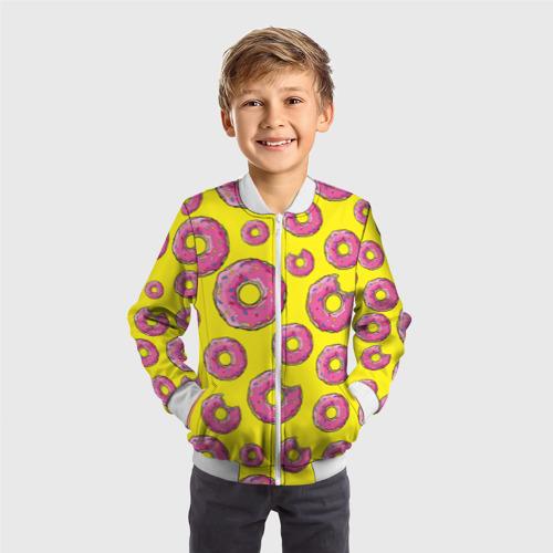 Детский бомбер 3D  Фото 05, Пончики