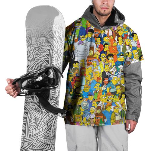 Накидка на куртку 3D Симпсоны