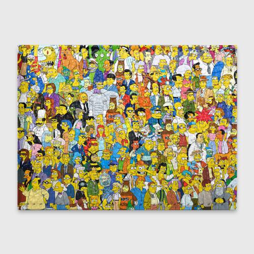 Обложка для студенческого билета Симпсоны