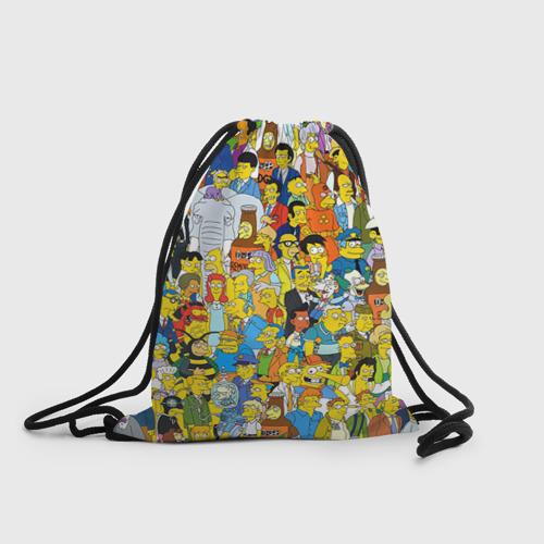 Рюкзак-мешок 3D Симпсоны