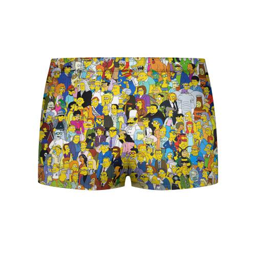 Мужские трусы 3D Симпсоны Фото 01