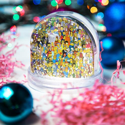 Водяной шар со снегом  Фото 03, Симпсоны