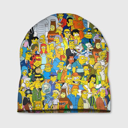 Шапка 3D Симпсоны