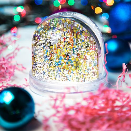 Водяной шар со снегом  Фото 04, Симпсоны