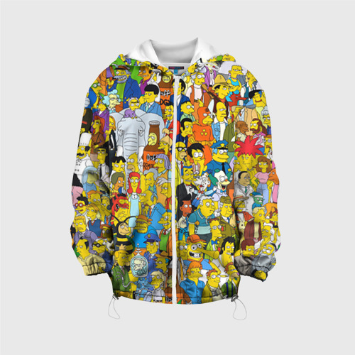 Детская куртка 3D Симпсоны