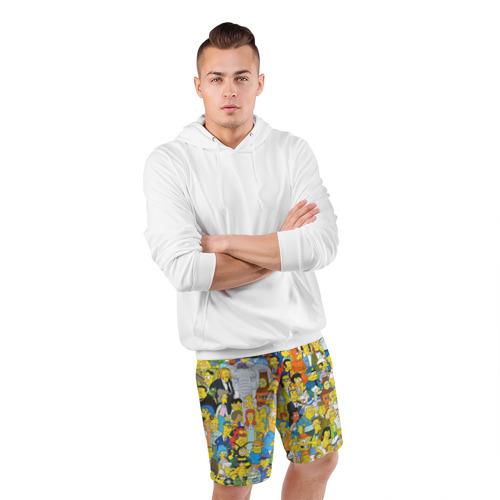 Мужские шорты спортивные Симпсоны Фото 01