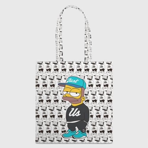 Сумка 3D повседневная Барт Симпсон