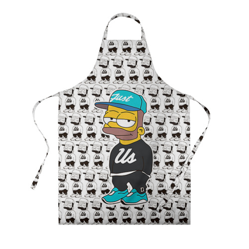 Фартук 3D Барт Симпсон