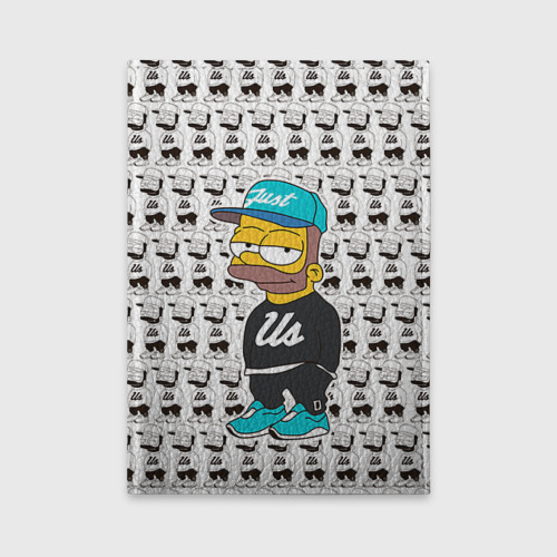 Обложка для автодокументов Барт Симпсон