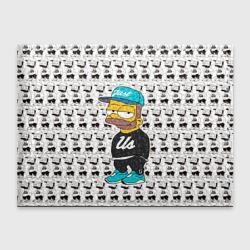 Обложка для студенческого билетаБарт Симпсон
