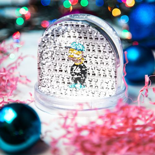Водяной шар со снегом  Фото 04, Барт Симпсон