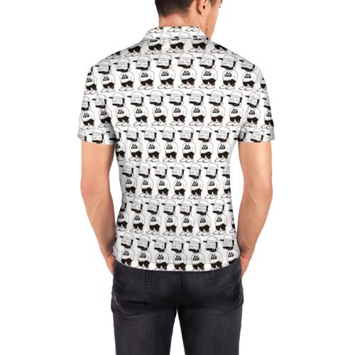 Мужская рубашка поло 3D Барт Симпсон Фото 01