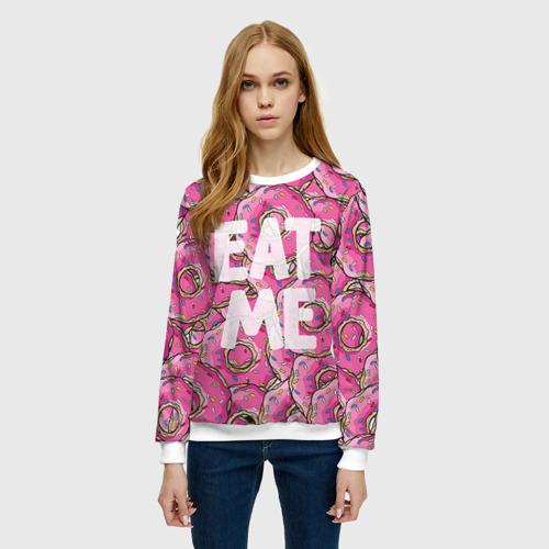 Женский свитшот 3D Eat me Фото 01